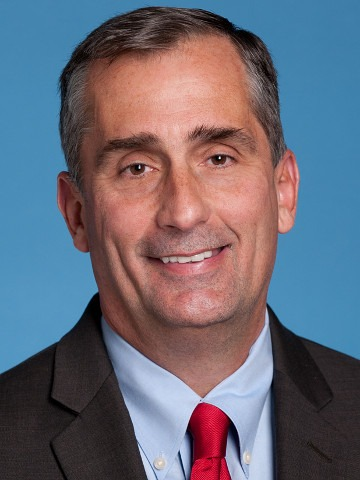 Brian Krzanich, CEO, Intel